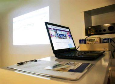 Videoproiettore del business centre