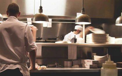 team building in cucina