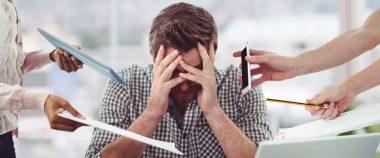 ridurre lo stress da lavoro: consigli per un consulente